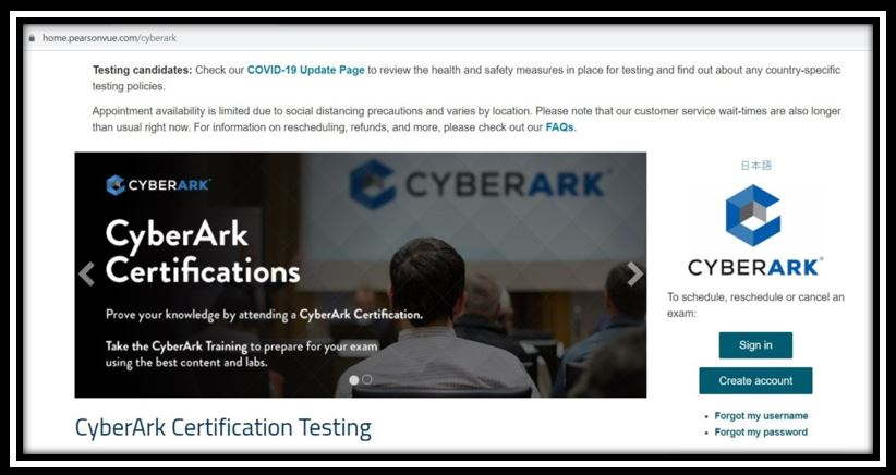 CyberArk Sentry Certification