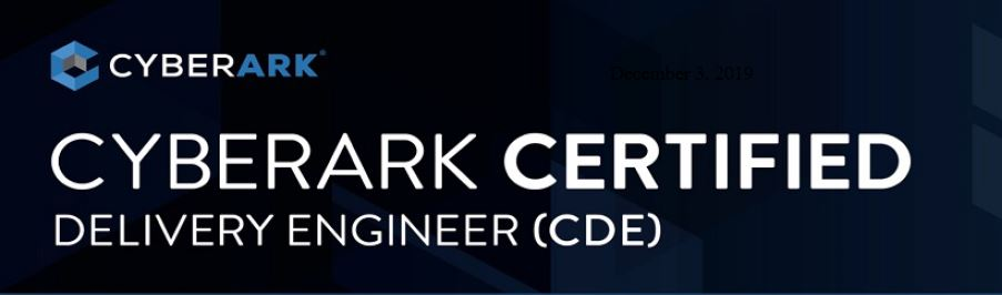 CyberArk CDE Certification